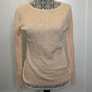 J. Crew Light pink/pale sweater